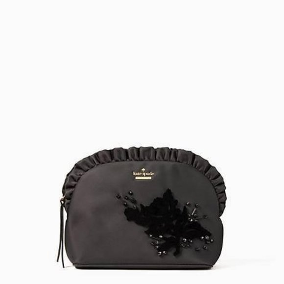 NEW Kate Spade Dawn Place Embellished Black Small